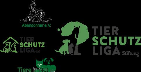 Logos Abandonner, Tiere In Not und Tierschutzliga