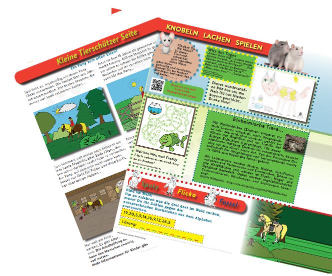 kinder1 Kinder-Club Tierschutz