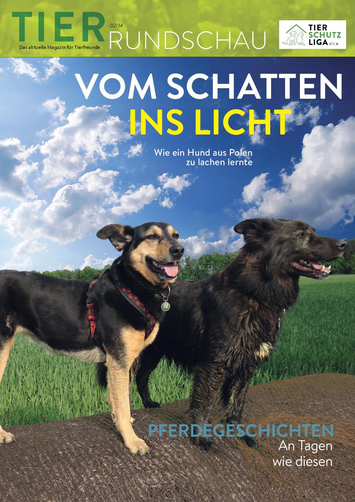 Tierrundschau-1402 Tierrundschau - aktuelles Tiermagazin