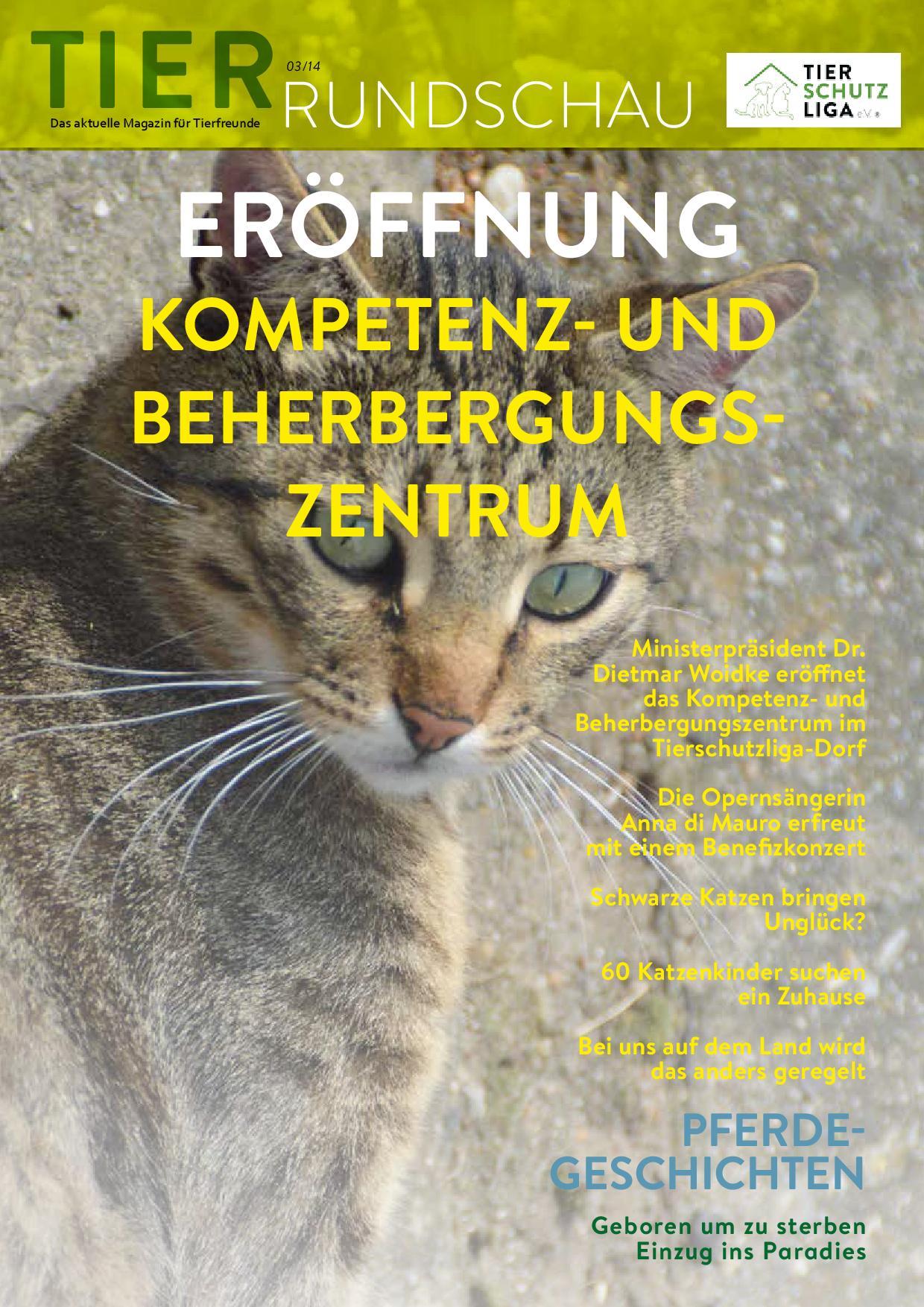 Tierrundschau-1403 Tierrundschau - aktuelles Tiermagazin