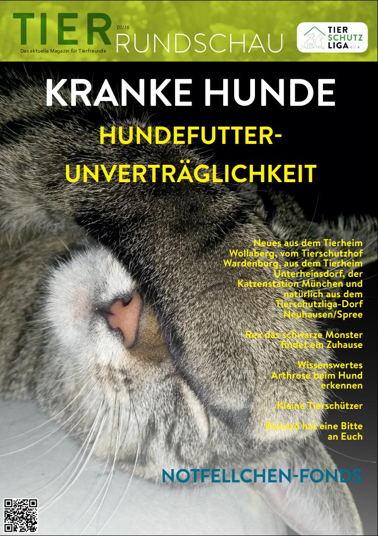 Tierrundschau-1601 Tierrundschau - aktuelles Tiermagazin