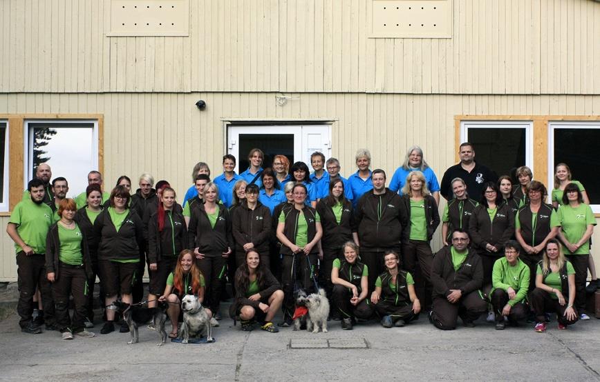Team Tierschutzligadorf gruppenfoto