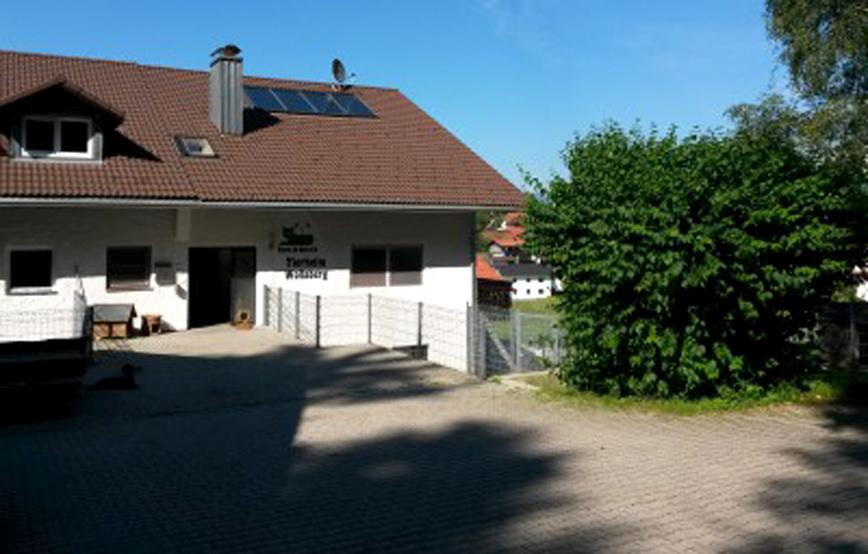Tierheim Wollaberg Eingang Beitragsbild