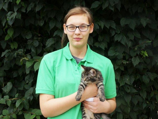auszubildende-anna-lena-weber Wir bilden aus - Tierpfleger