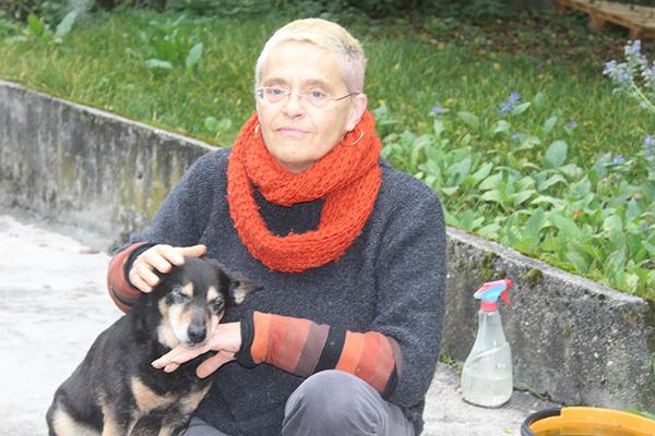 elliot-alt-blind-helga Elliot - alter Tierschutzhund möchte sich verabschieden und bedanken