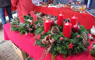 wollaberg-adventsmarkt-erfolg-kraenze Aktuelles - Tierheim Wollaberg