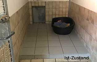 neubau-hundetrakt-bueckeburg-hundezimmer-1 Unser Hundeauslauf braucht ein Dach - Tierheim Unterheinsdorf