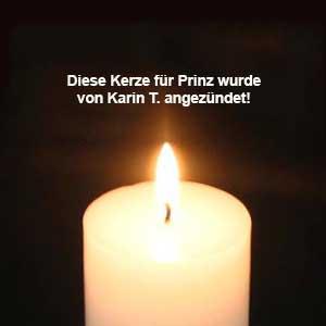 kerze-karin-prinz Prinz – unvergessen