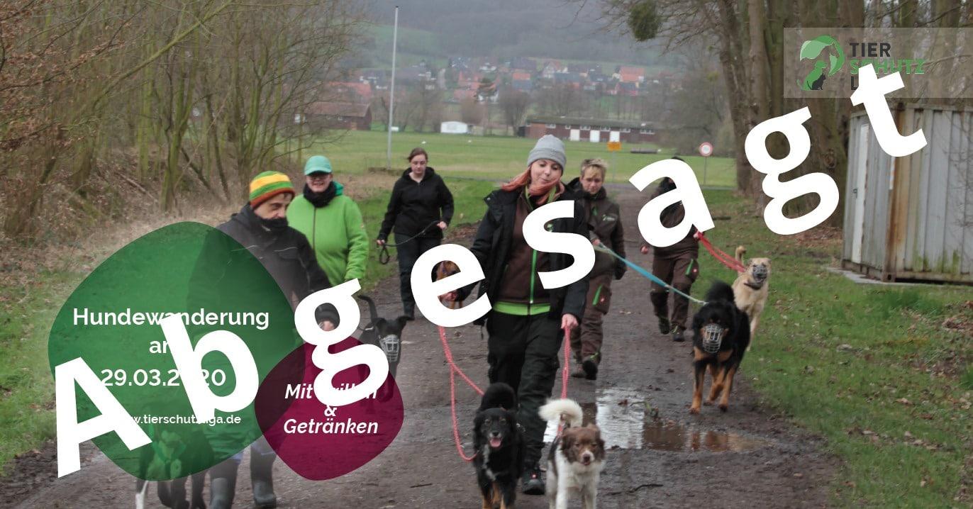 Hundewanderung_abgesagt Hundewanderung in Bückeburg am 29.03.2020
