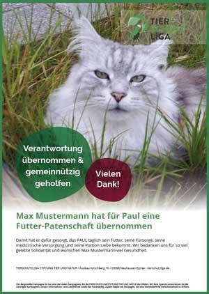 futter-patenschaft-urkunde-muster 3-monatige Futterpatenschaft übernehmen