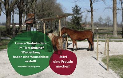 Wunschliste-wardenburg TIERSCHUTZLIGA Tierheim Weihnachtsspende