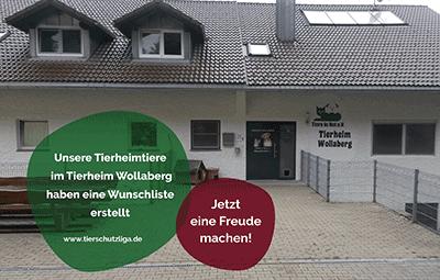 Wunschliste-wollaberg TIERSCHUTZLIGA Tierheim Weihnachtsspende