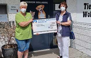 spendenaktion-wollaberg Tierheim Wollaberg