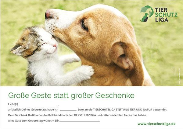 spende-zum-geburtstag-klein Spenden und Schenken: Verschenken Sie Hoffnung für ein Tier