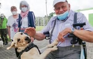 tierrundschau-rentner-hund-300x191 Tierheimführung für Senioren